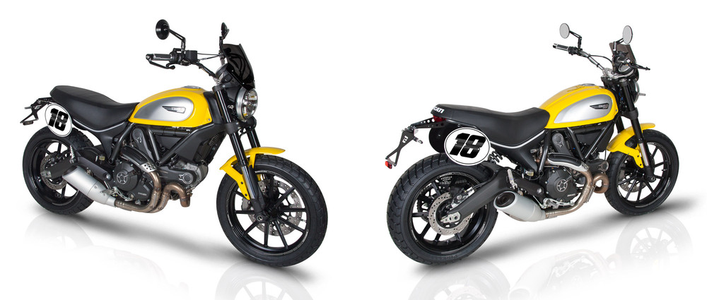 Scrambler &g... Ducati Monster 1100